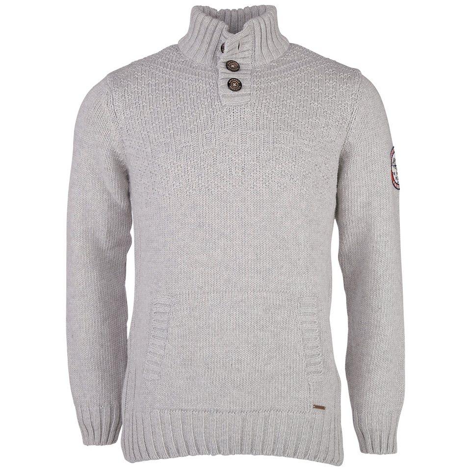 Chiemsee Herren Pullover »KEASY« in light grey
