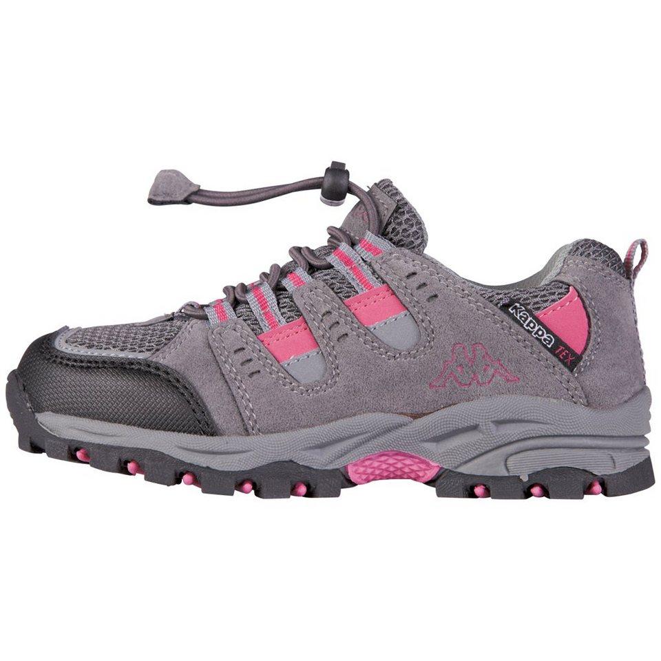 KAPPA Schuh »STORM TEX KIDS« in anthra/pink