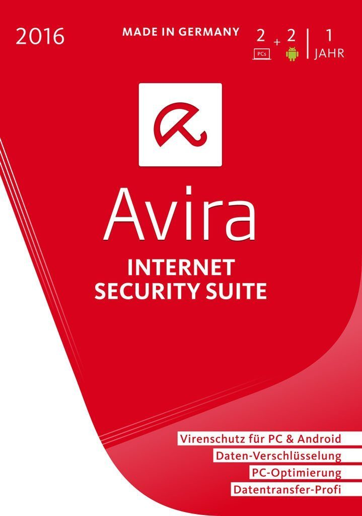 Avira Software »Avira Internet Security Suite 2016-2 Geräte«