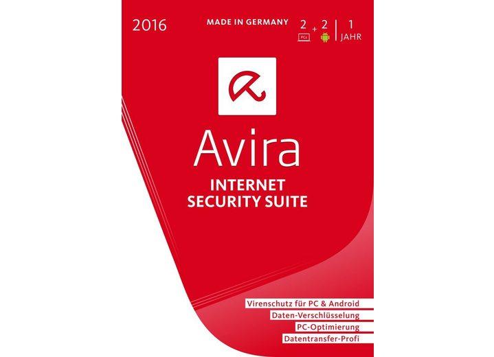 Avira Software »Avira Internet Security Suite 2016-2 Geräte«