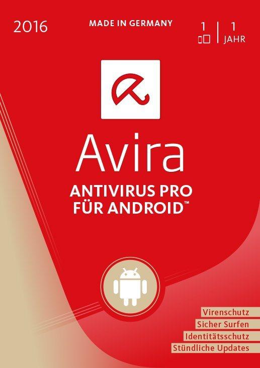 Avira Software »Avira AntiVirus Pro Android 2016 - 1 Gerät«