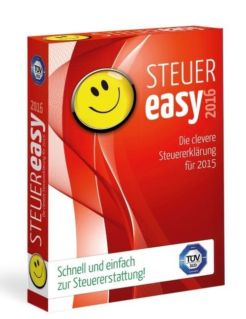 Koch Media Software »Steuer Easy 2016«