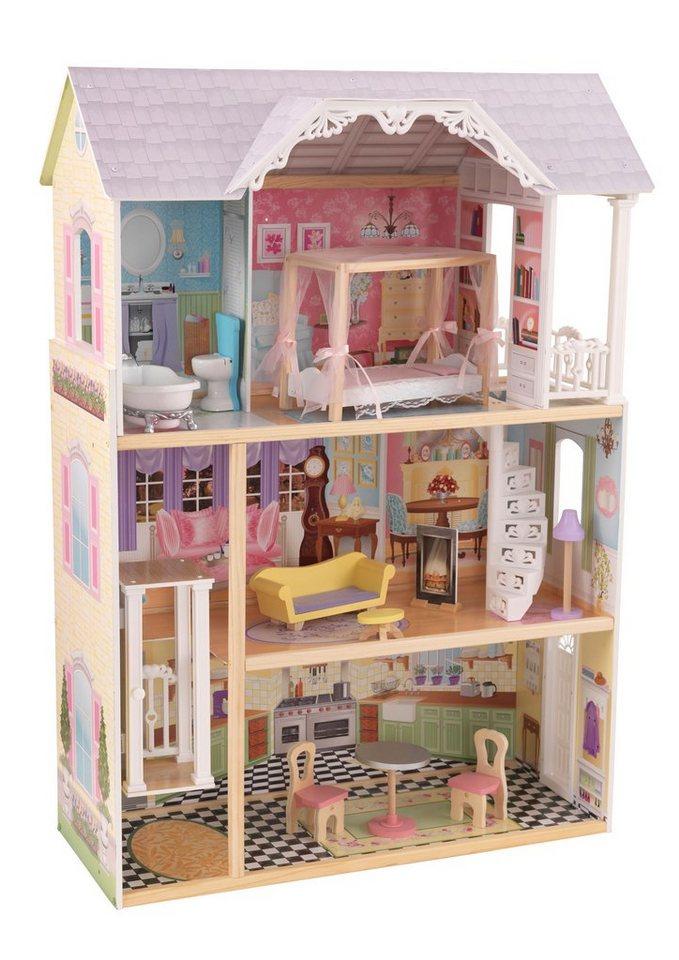 kidkraft puppenhaus kaylee puppenhaus kaufen otto. Black Bedroom Furniture Sets. Home Design Ideas