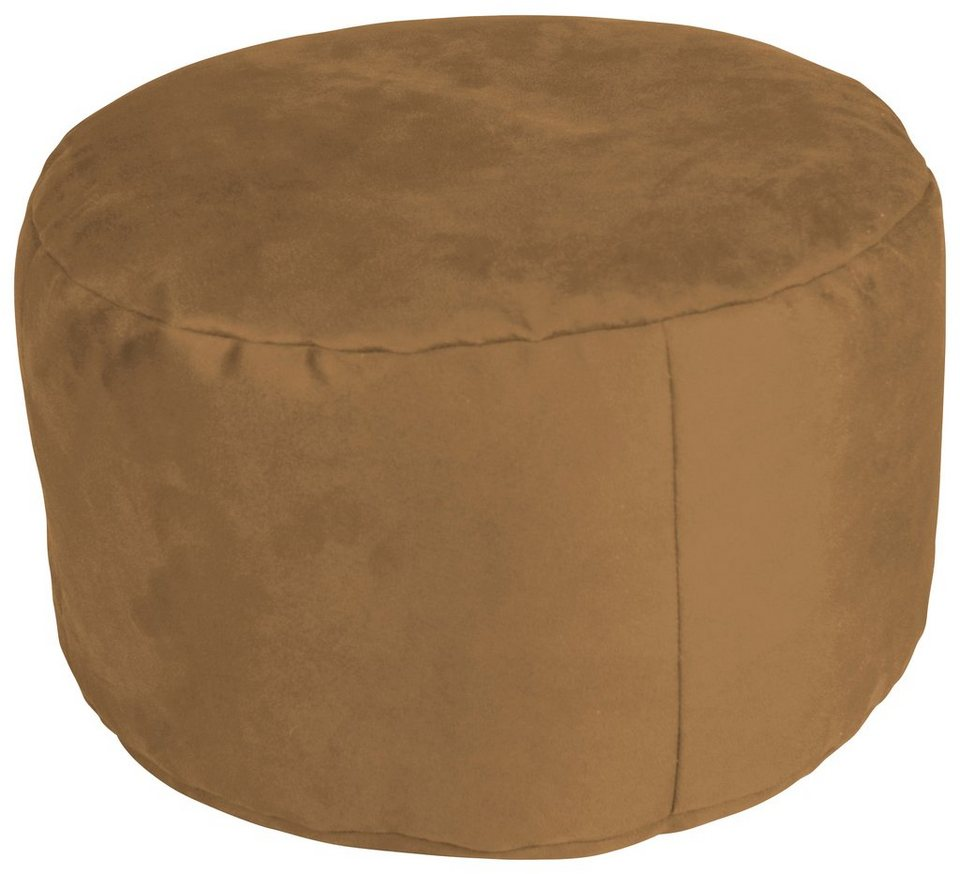 Home affaire Pouf in rehbraun