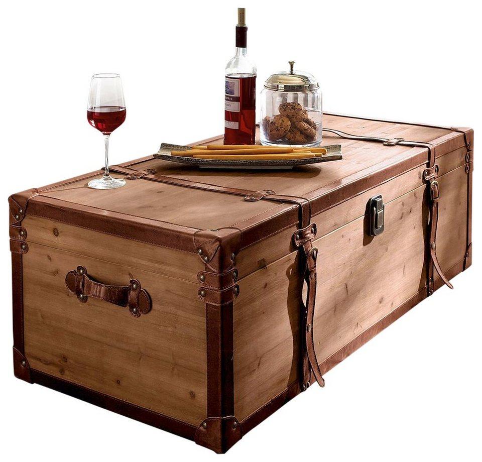Home affaire couchtisch truhe online kaufen otto for Couchtisch kufen