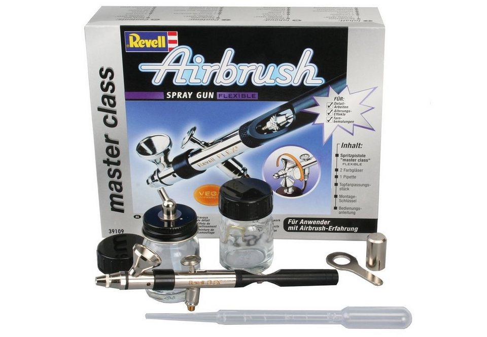revell airbrush pistole spray gun master class flexible. Black Bedroom Furniture Sets. Home Design Ideas