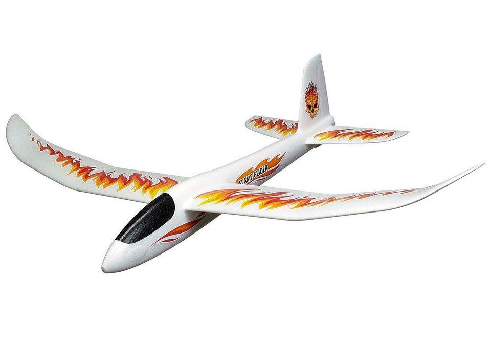 Revell® Modellbausatz Wurfgleiter, »Play 'N' Action XXL Glider Flame Glider« in weiß