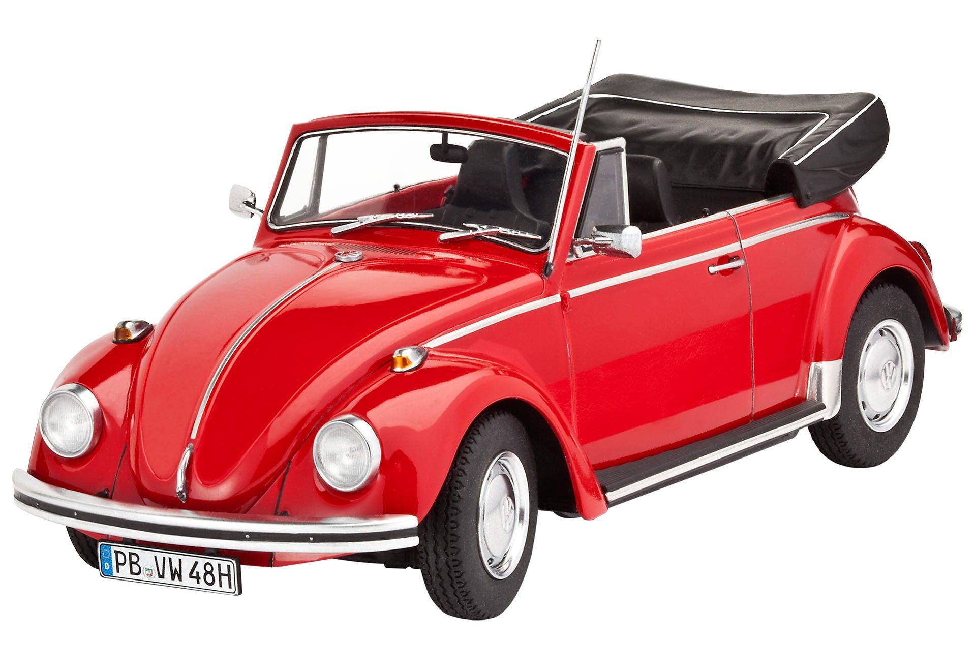 Revell® Modellbausatz Auto mit Zubehör, Maßstab 1:24, »VW Beetle Cabriolet 1970«