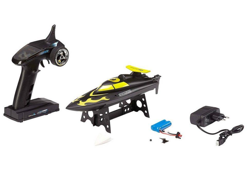 Revell RC Boot, »RC Tide Breaker« in schwarz/gelb