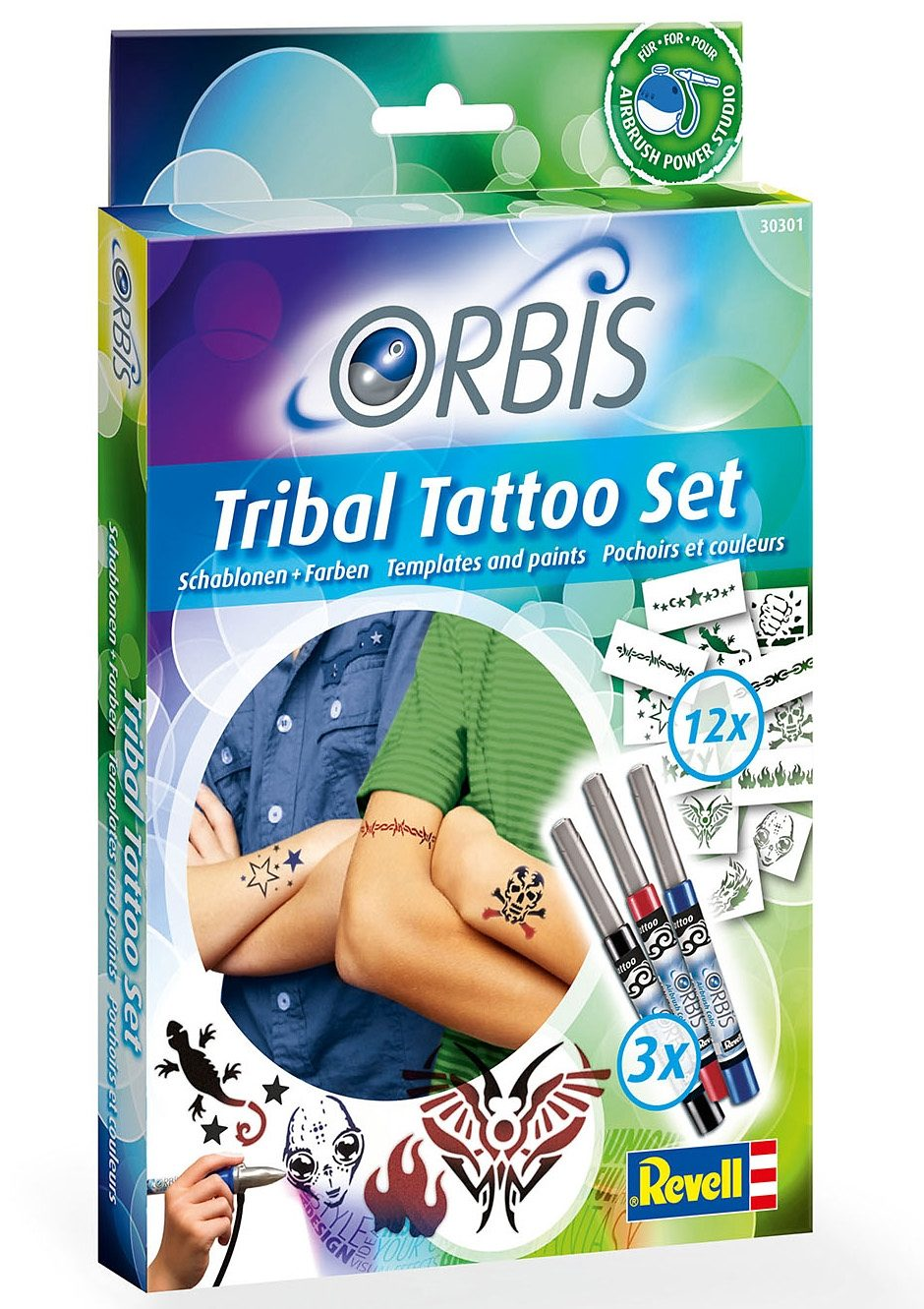 Revell® Airbrush Tattoo Studio, »Orbis Tribal Tattoo Set«