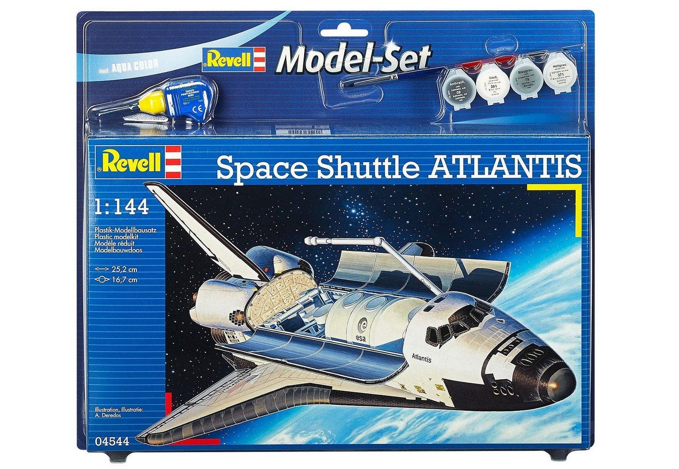 Revell® Modellbausatz Raumschiff mit Zubehör, Maßstab 1:144, »Model Set - Space Shuttle Atlantis
