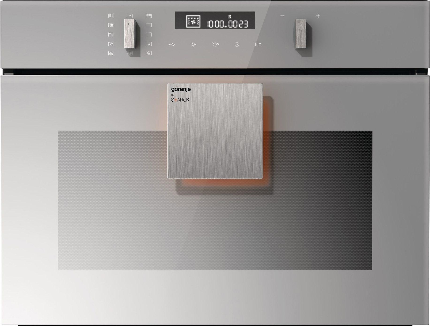 Gorenje by Starck® Kompaktbackofen mit Mikrowellenfunktion BCM547ST, 2.200 Watt
