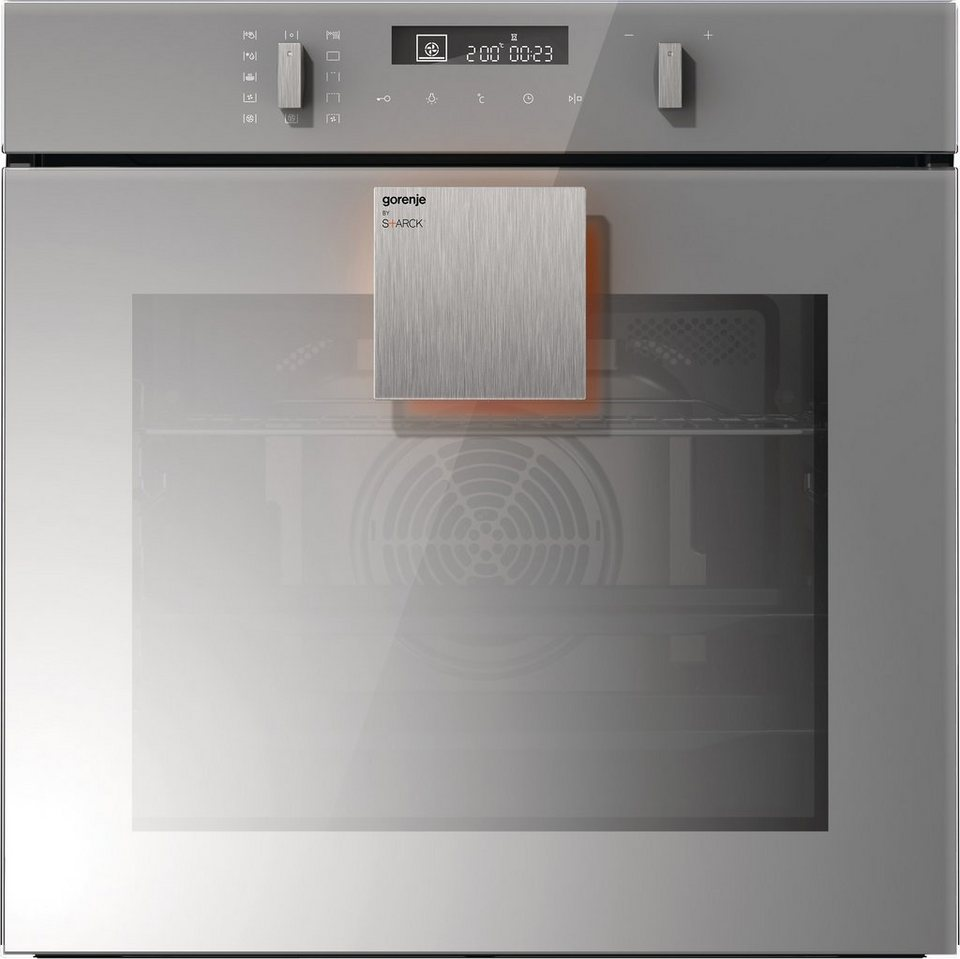 Gorenje by Starck® Backofen BO747ST, A in silbergrau