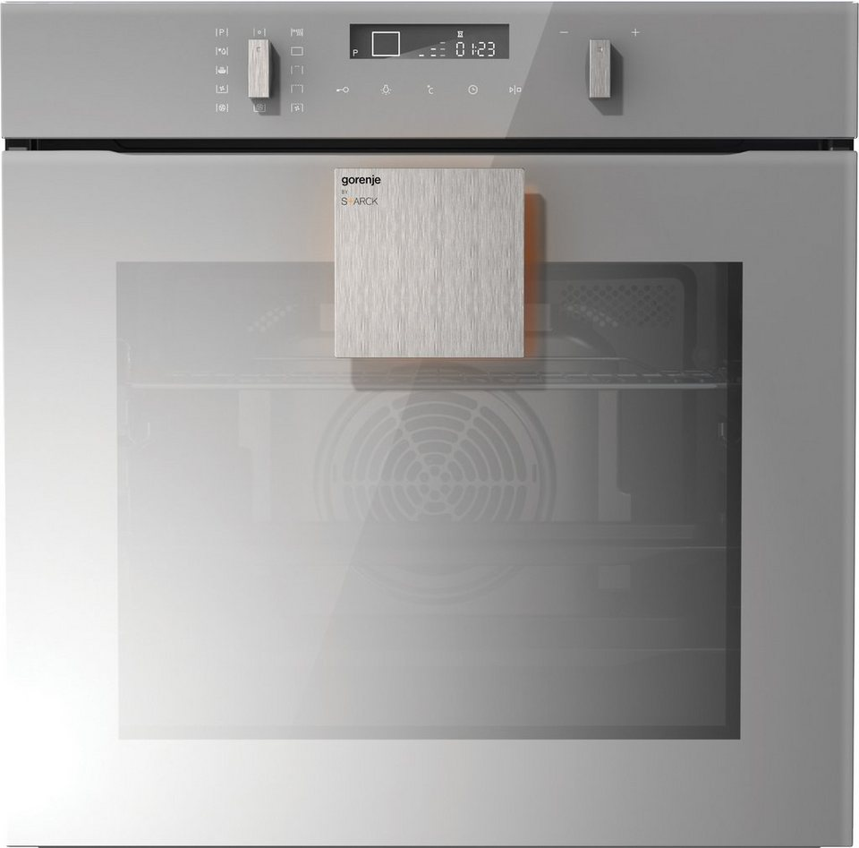gorenje by starck backofen mit pyrolyse selbstreinigung bop747st online kaufen otto. Black Bedroom Furniture Sets. Home Design Ideas