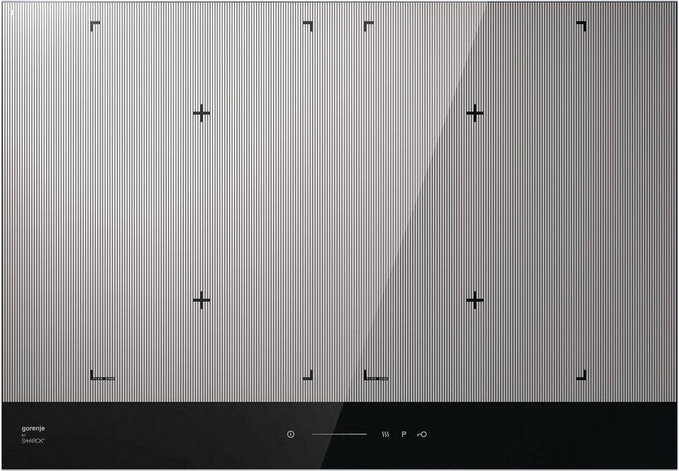 Gorenje by Starck® Flex-Induktions-Kochfeld IS756ST in Edelstahl