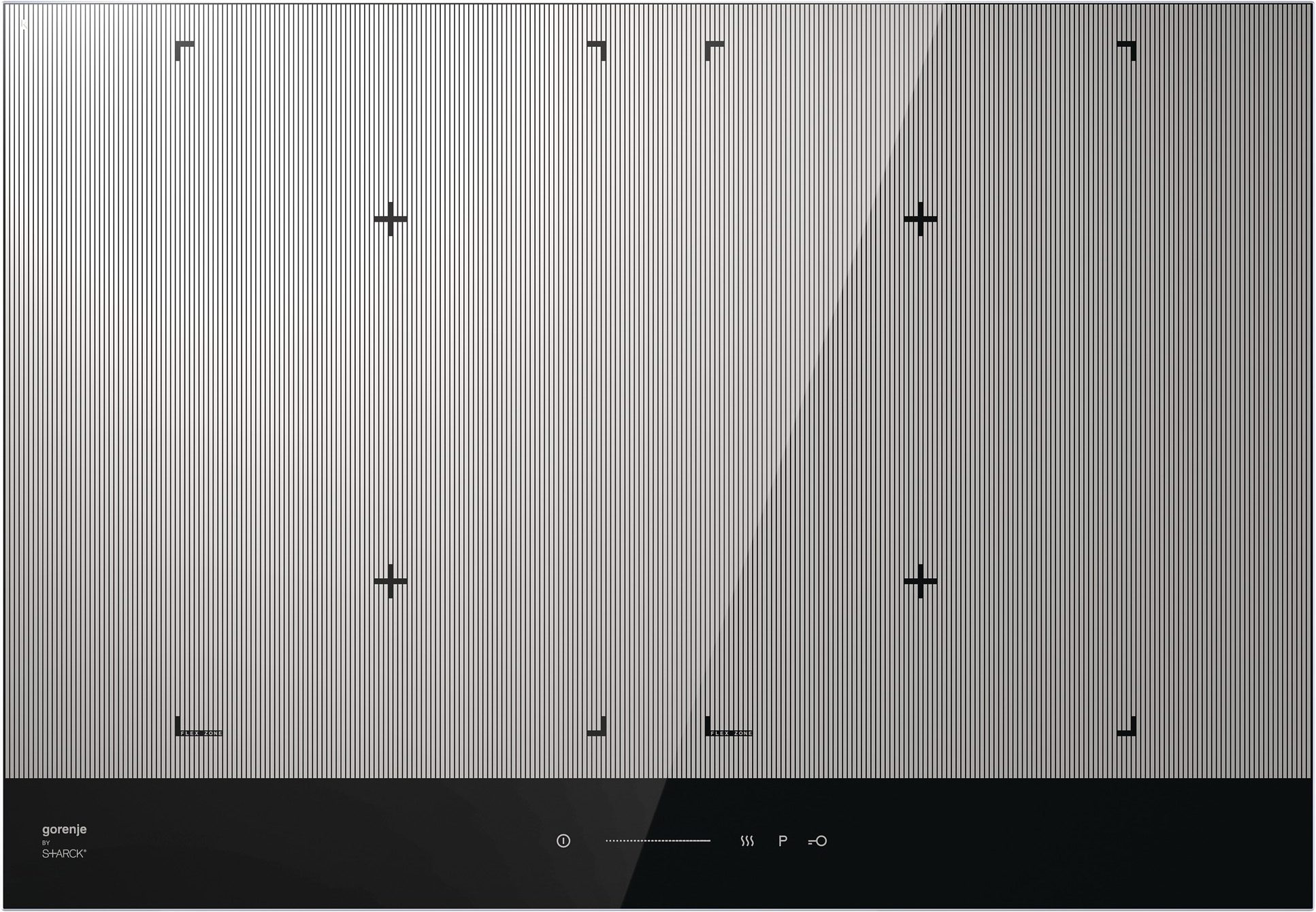 Gorenje by Starck® Flex-Induktions-Kochfeld IS756ST