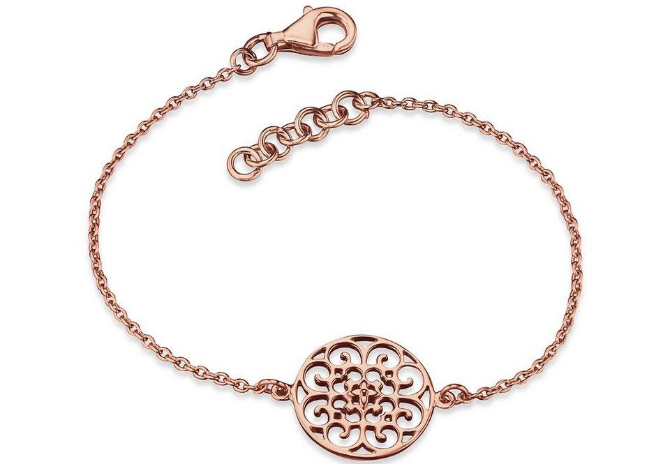 Engelsrufer Armband, »Ornament, ERB-ORNA-R« in Silber 925/roségoldfarben