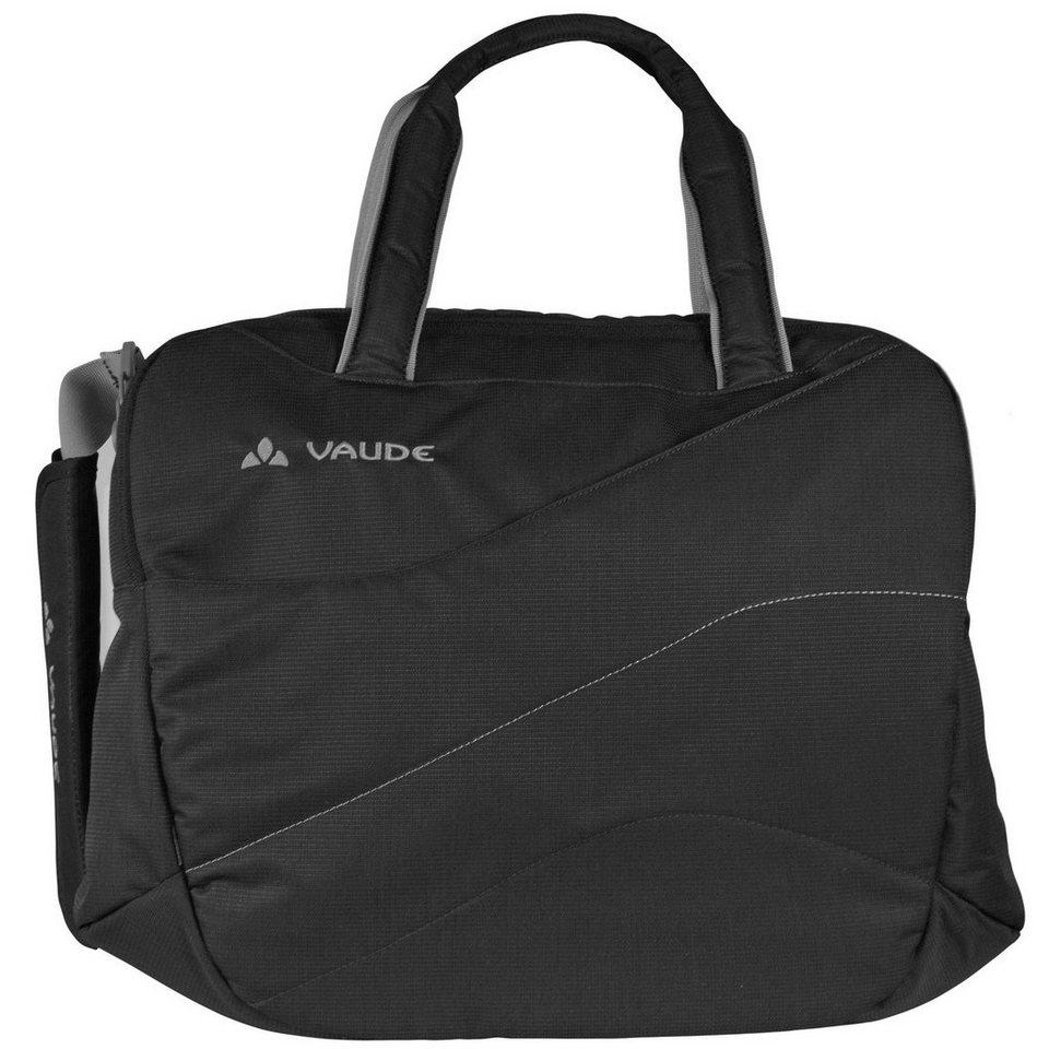 Vaude Recycled PETara Umhängetasche 47 cm Laptopfach in black