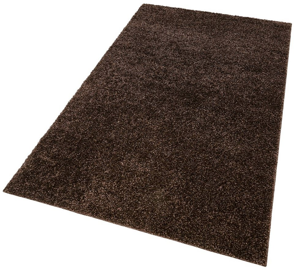 Hochflor-Teppich, Home affaire Collection , »Shaggy 30«, Höhe 30 mm in braun
