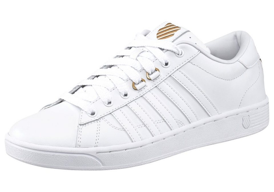 K-Swiss Hoke 50th Sneaker in Weiß-Goldfarben