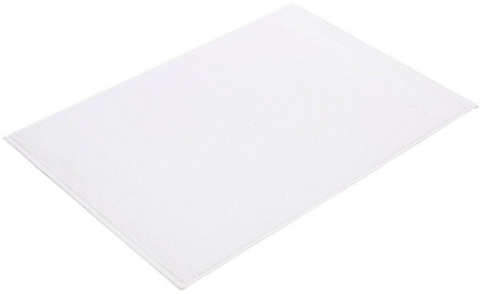 Duschvorlage, Möve, »Superwuschel«, Höhe 5 mm, Baumwolle in snow