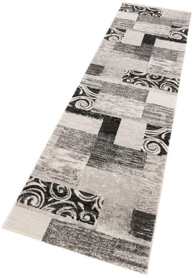 Läufer, Lalee, »Neo 330«, gewebt in silber
