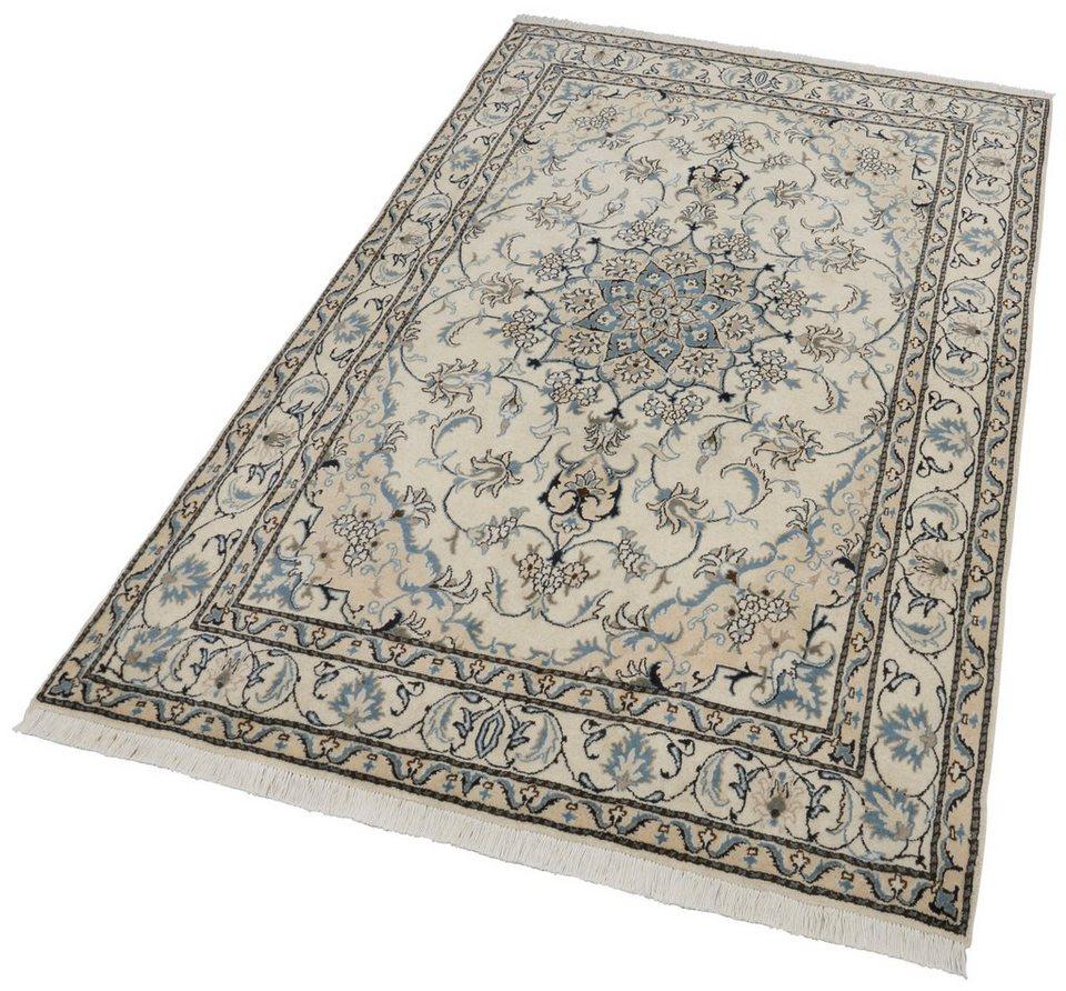 Nain teppich  Orient-Teppich, Parwis, »Nain Khorasan8«, 180 000 Knoten/m² ...