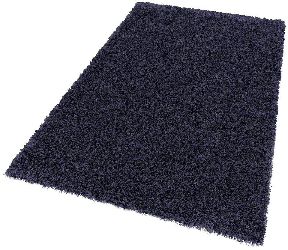 hochflor teppich sch ner wohnen feeling h he 55mm. Black Bedroom Furniture Sets. Home Design Ideas