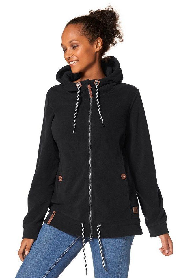Ocean Sportswear Fleecejacke in schwarz