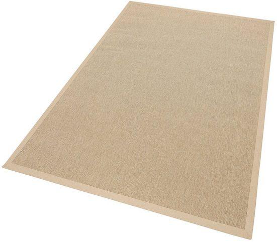 Teppich »Naturino Rips, Wunschmaß«, Dekowe, rechteckig, Höhe 7 mm, Flachgewebe, Sisal-Optik, In- und Outdoor geeignet, Wohnzimmer