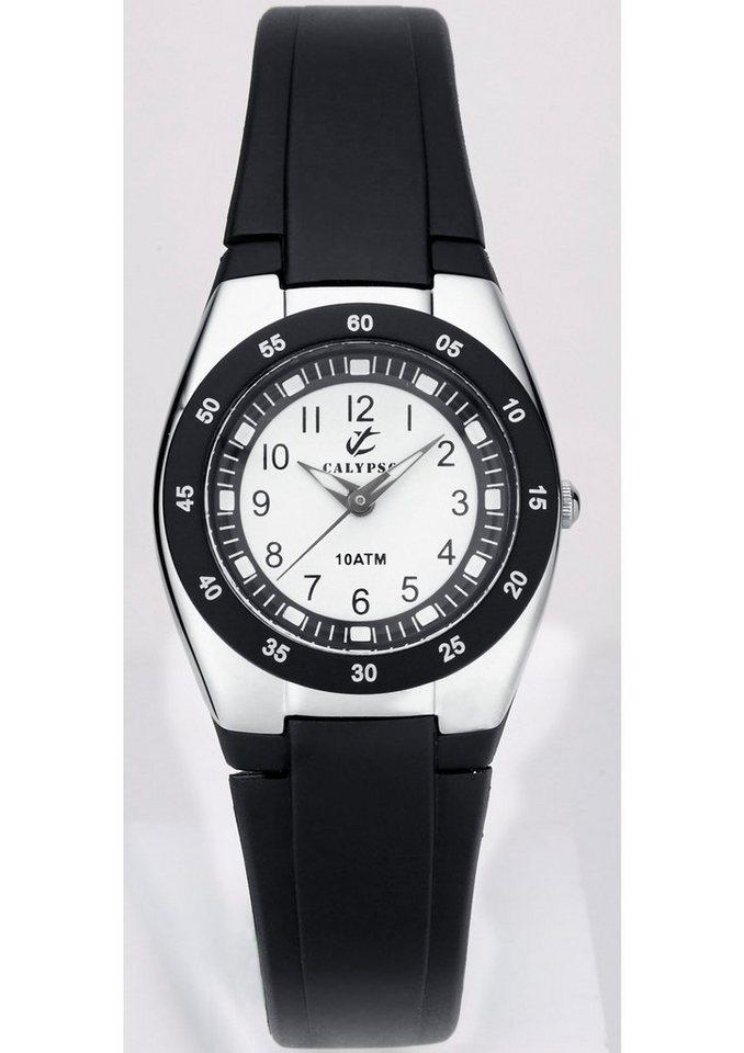 "CALYPSO WATCHES, Armbanduhr, ""K6043/F"" in schwarz"