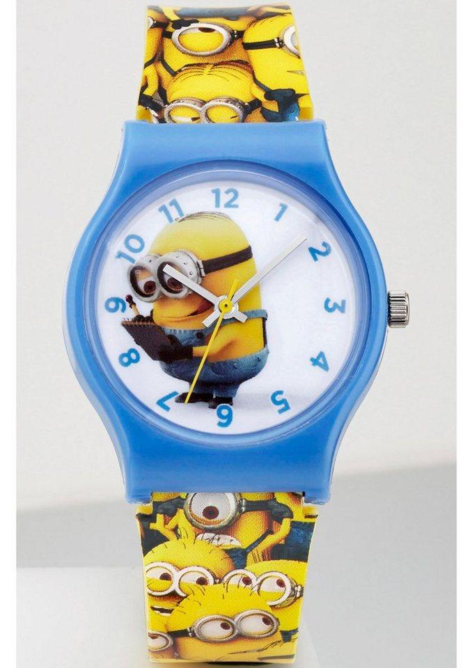 "Minions, Armbanduhr, ""90493"" in gelb"