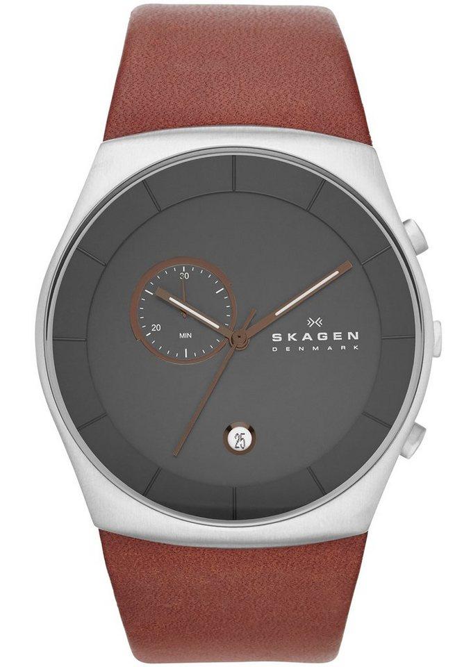 """Skagen, Chronograph, """"HAVENE, SKW6085"""" in braun"""