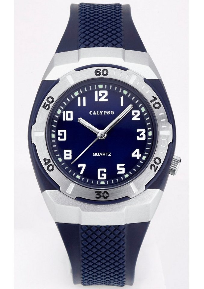 CALYPSO WATCHES Quarzuhr »K5215/3« in blau