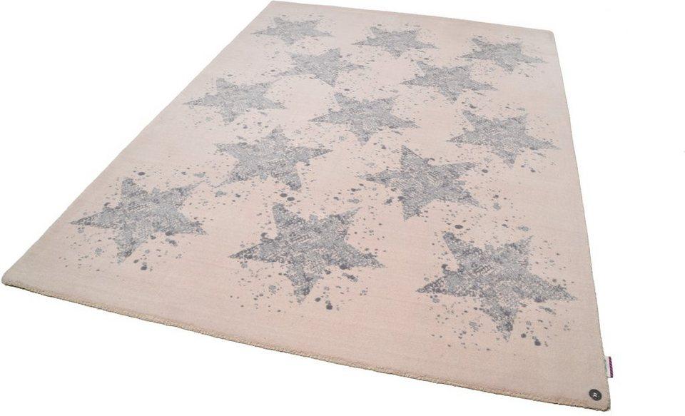 teppich happy stars tom tailor rechteckig h he 12 mm. Black Bedroom Furniture Sets. Home Design Ideas