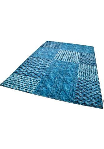 TOM TAILOR Kilimas »Happy Patchwork Knit« rechtec...