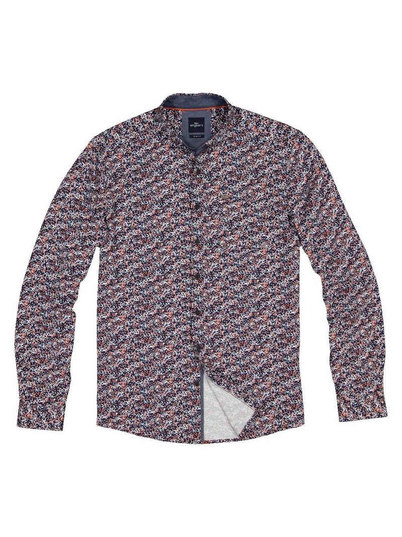 Engbers Langarmhemd »Langarm-Hemd gemustert«
