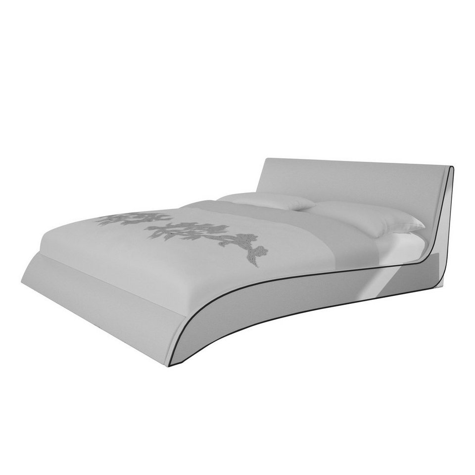 salesfever polsterbett in geschwungener form area online kaufen otto. Black Bedroom Furniture Sets. Home Design Ideas