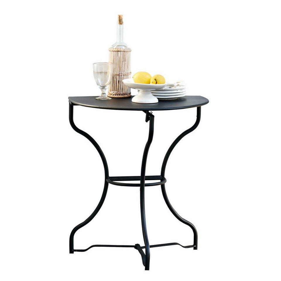 Loberon Tischchen »Arnage« in schwarz