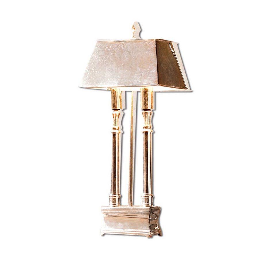 Loberon Tischlampe »Pantin« in silber