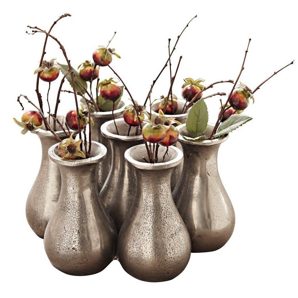 Loberon Vase »Tiffani« in silber