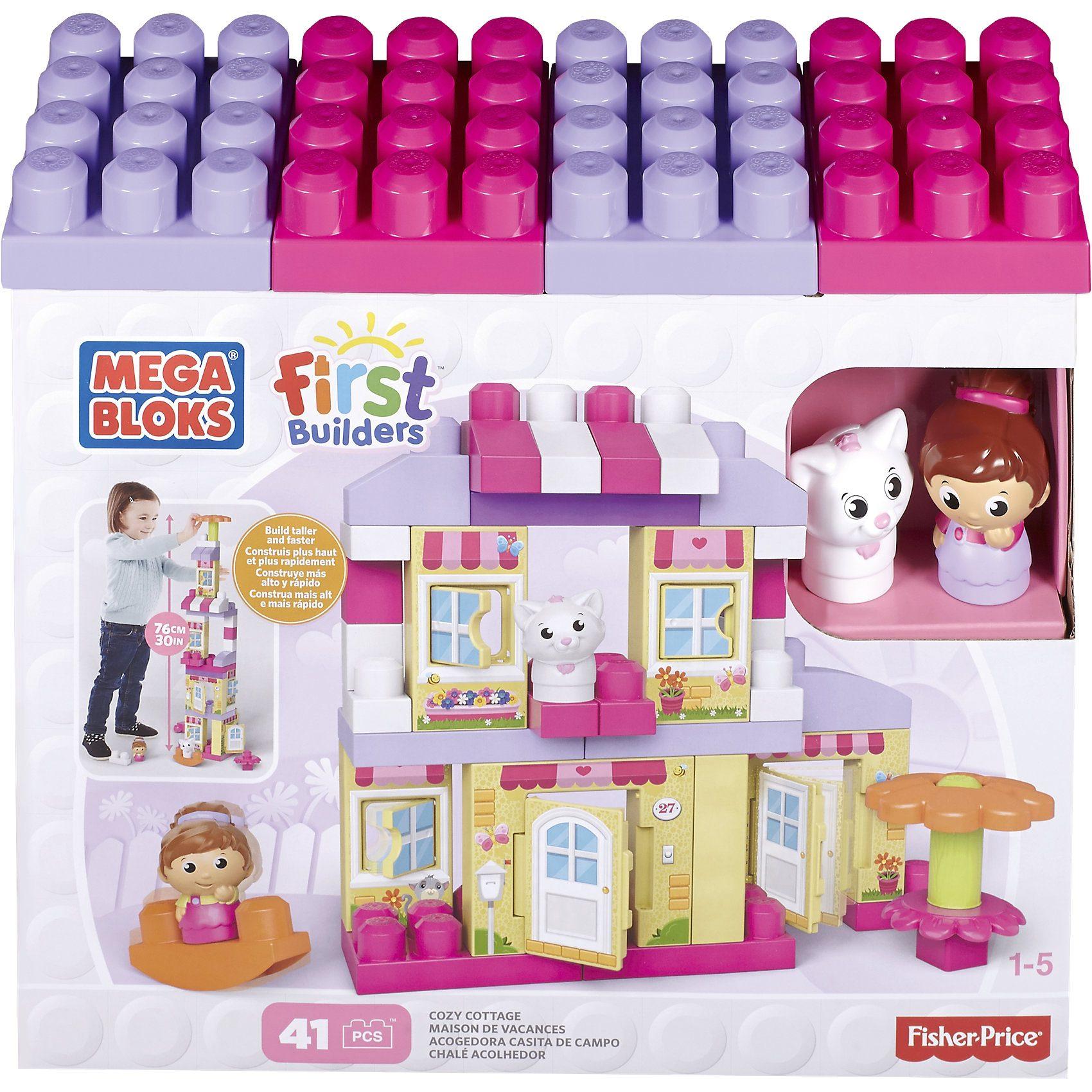 MEGA BLOKS First Builders - Traumhaus Mädchen