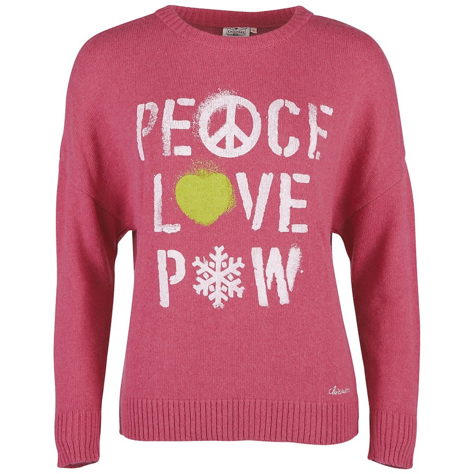 Chiemsee Damen Pullover »KOKOMI« in pink flambe