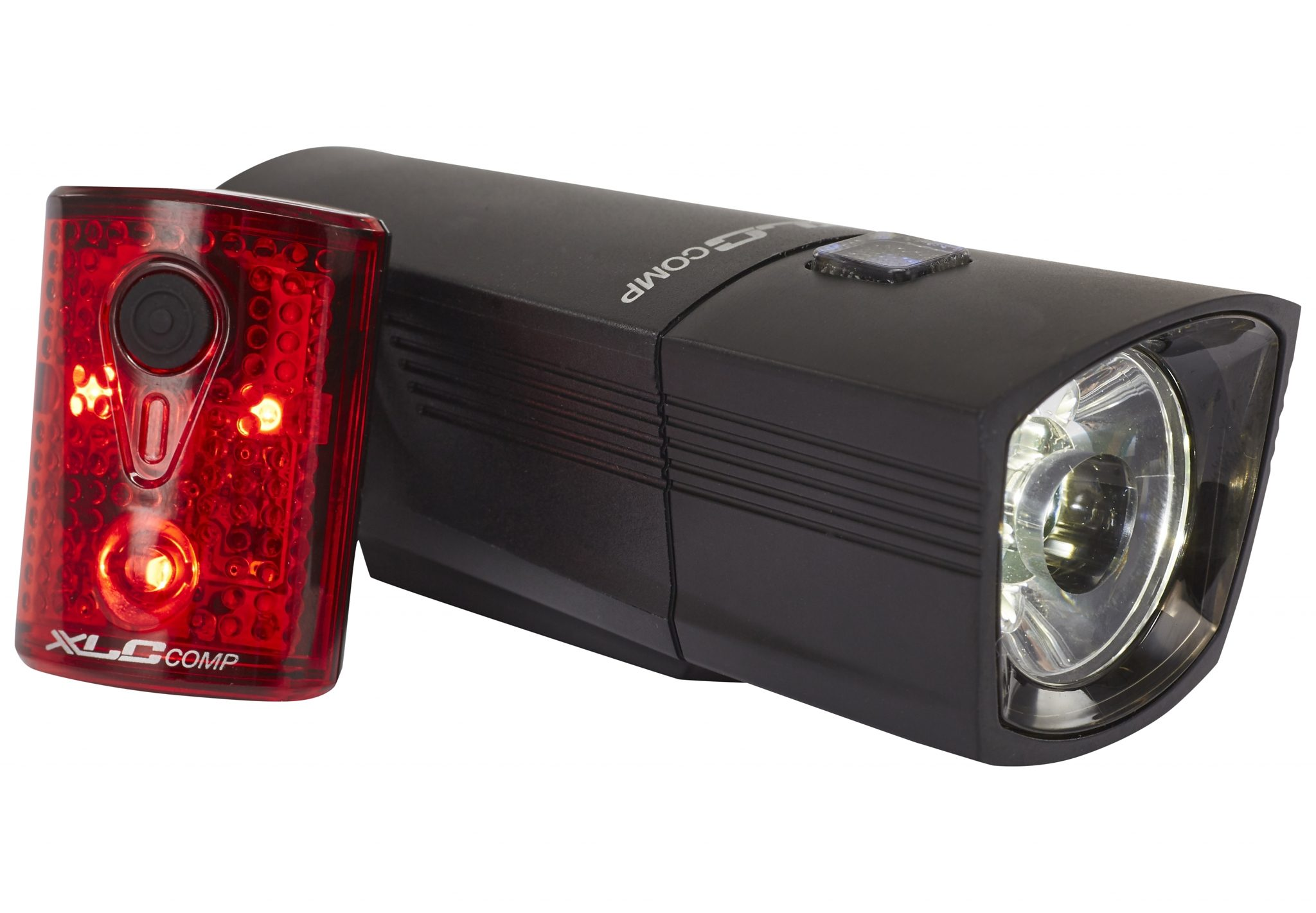 XLC Fahrradbeleuchtung »Comp CL-S14 Beleuchtungsset Francisco/Pan«