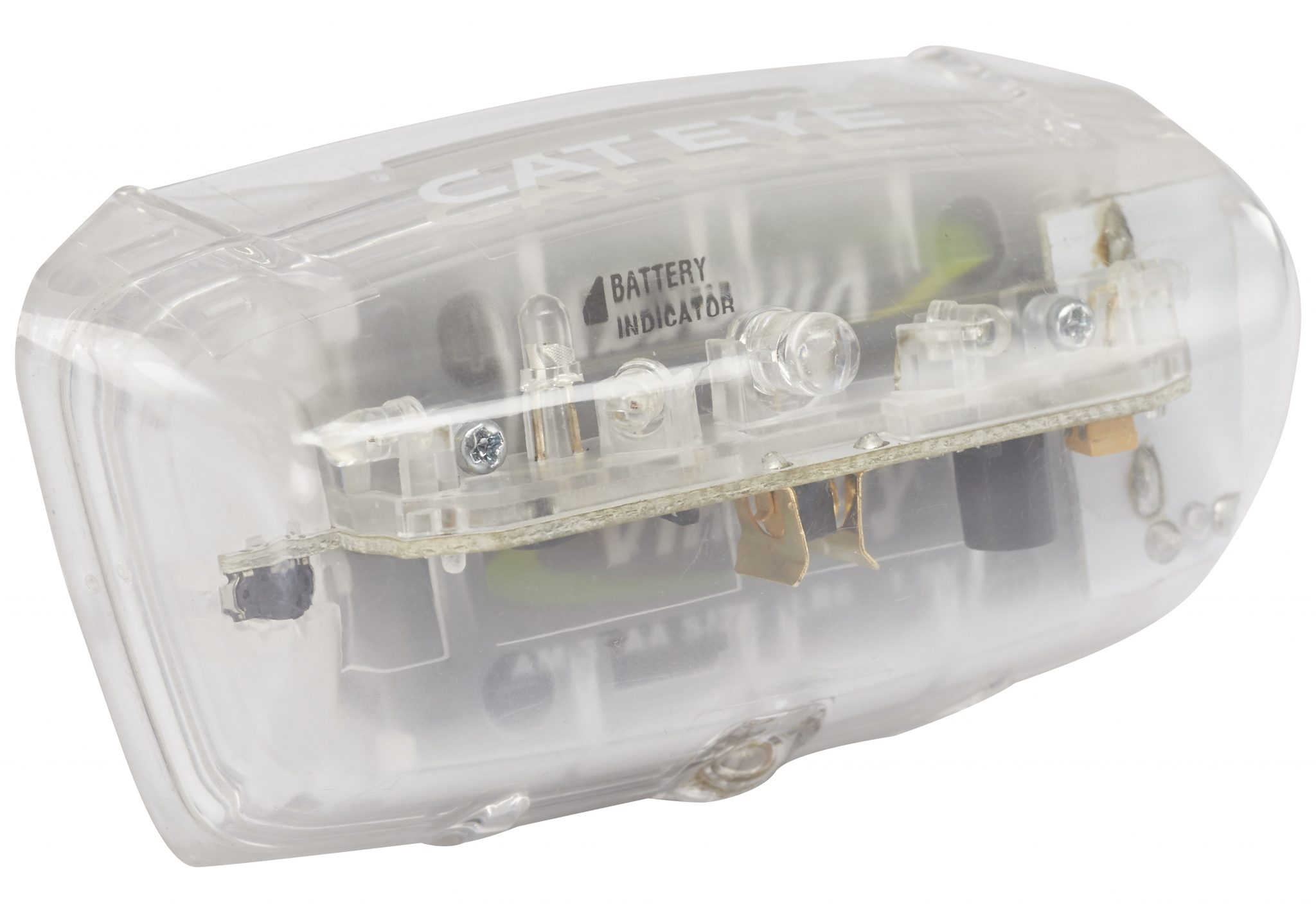 Cateye Fahrradbeleuchtung »Blitz Auto TL-AU 330G Rücklicht schwarz/weiß«