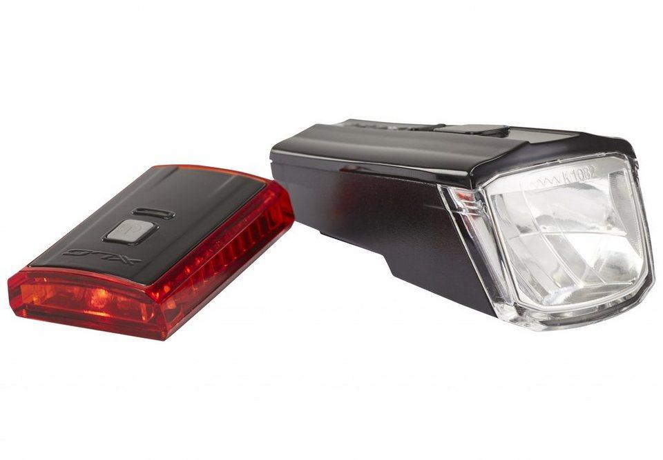 XLC Fahrradbeleuchtung »Comp CL-S16 Beleuchtungsset Titania«
