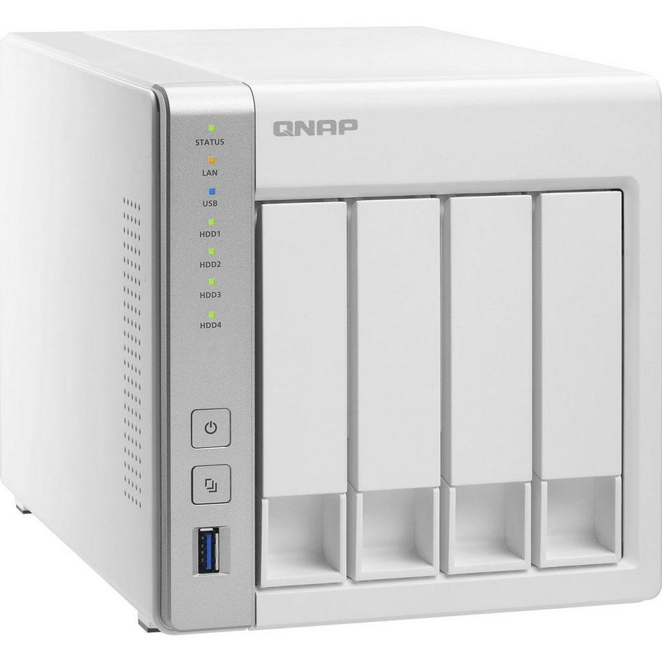 """QNAP NAS »TS-431 2x1.2GHz/512MB/4x3,5""""«"""