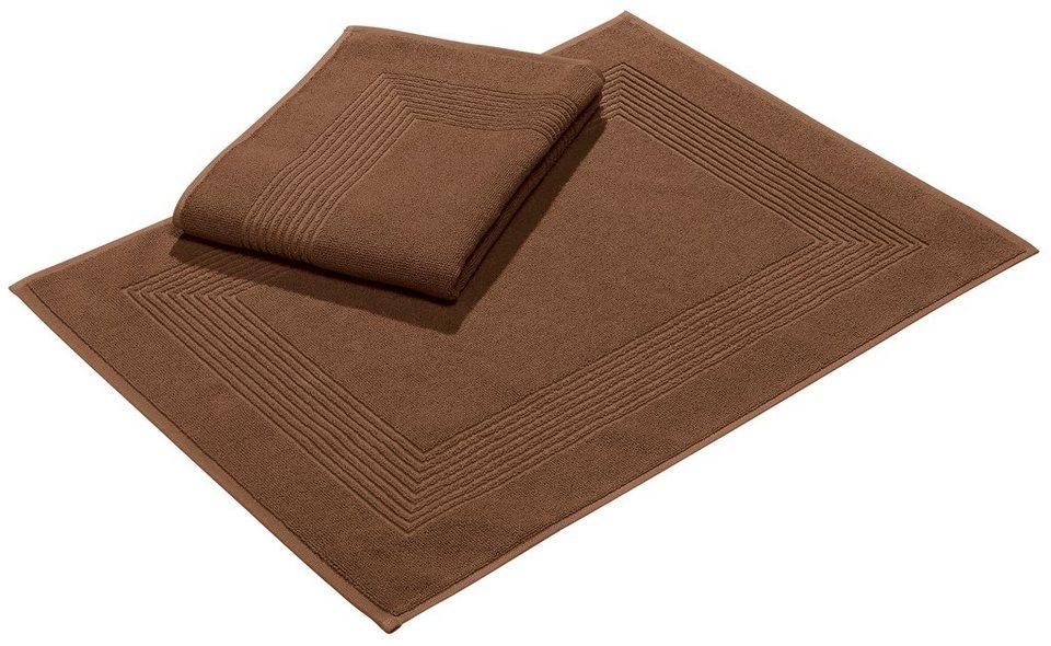 badematte vossen new generation 5mm baumwolle 2er. Black Bedroom Furniture Sets. Home Design Ideas