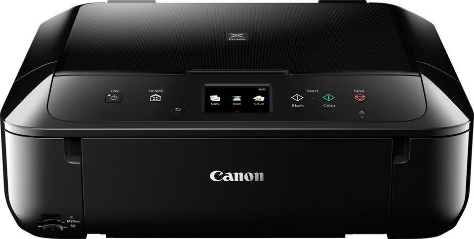 Canon MG6850 Multifunktionsdrucker in schwarz