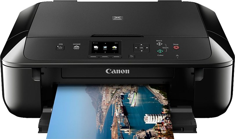 Canon MG5750 Multifunktionsdrucker in schwarz